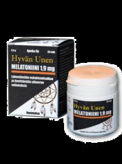 Hyvän unen Melatoniini 1,9 mg 30 tabl