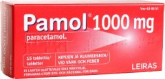 PAMOL 1000 mg tabl 15 fol